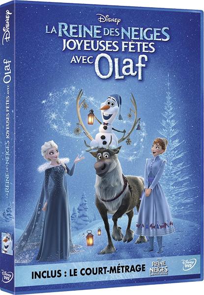 [Moyen-Métrage Walt Disney] Joyeuses Fêtes avec Olaf (2017) - Page 13 Olafdvdfr