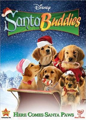 "[Disney] La Saga ""Air Bud"" (2 films + 12 suites vidéos de 1997 à 2012) - Page 2 Santabuddies"