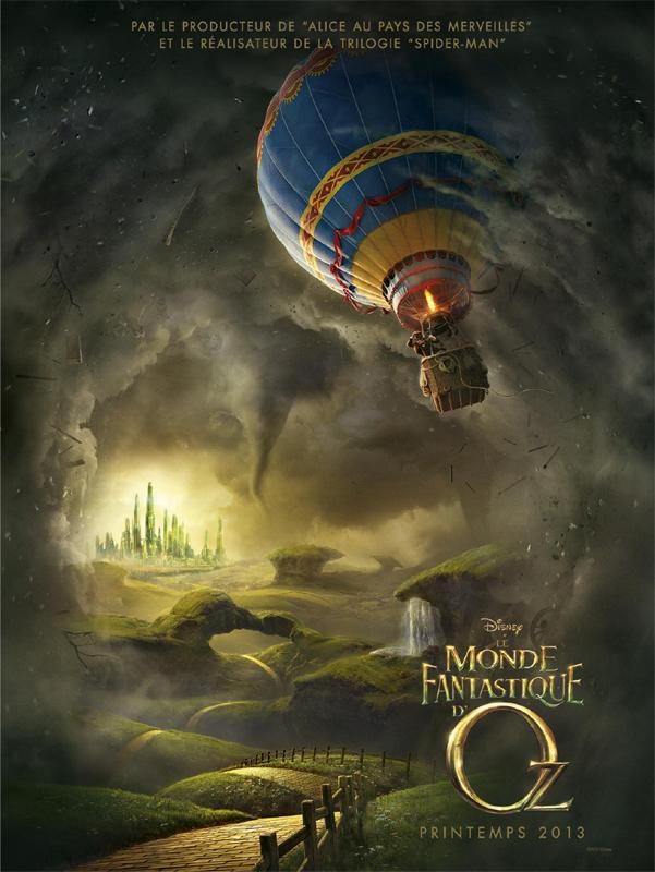 [Disney] Le Monde Fantastique d'Oz (13 mars 2013) - Page 3 Ozaffichefr1