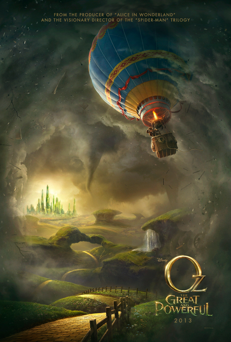 Le Monde Fantastique d'Oz [Disney - 2013] Ozafficheus1