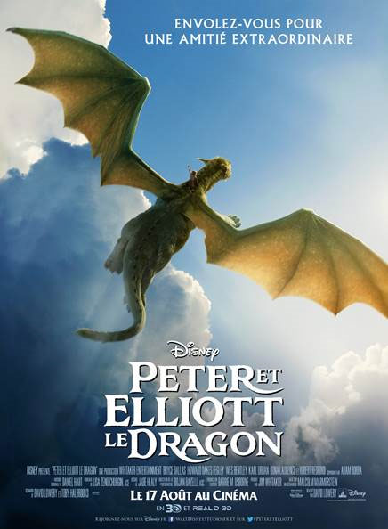 Peter et Elliott le Dragon [Disney - 2016] - Page 5 Peterdragonaffiche4