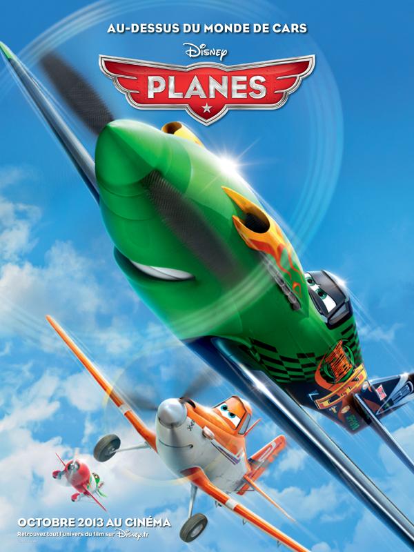 [DisneyToon] Planes (2013) - Page 6 Planesaffichefr1