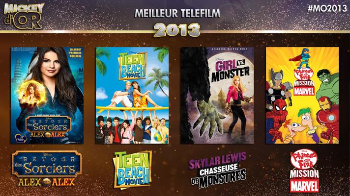 Mickey d'Or 2013 : découvrez le palmarès de l'année ! Tele2013