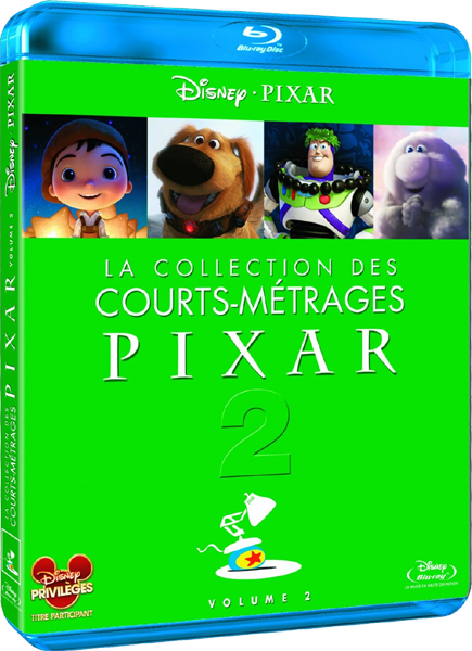 La Collection des Courts-métrages Pixar - Volume 2