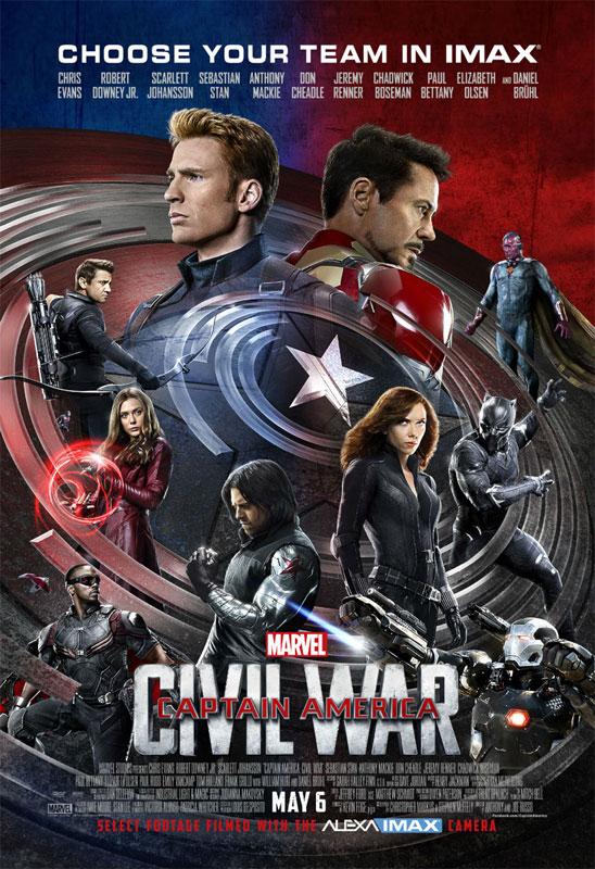 [Marvel] Captain America : Civil War (2016) - Page 12 Captainamerica3affiche16