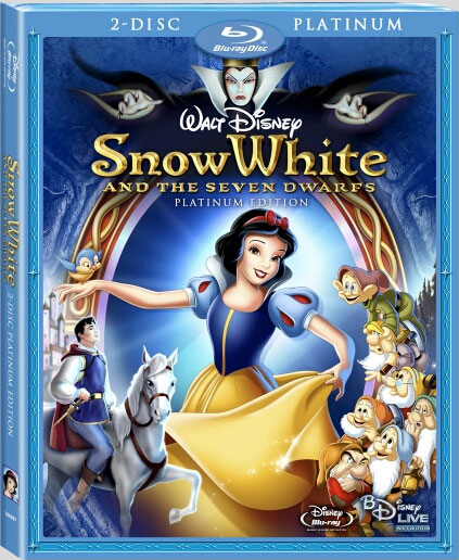 [DVD & Blu-Ray Disc] Blanche Neige et les 7 Nains (2009) Snowwhitebd